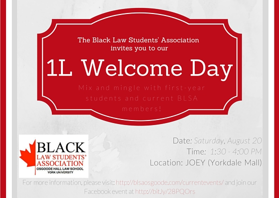 BLSA 1L Welcome Day